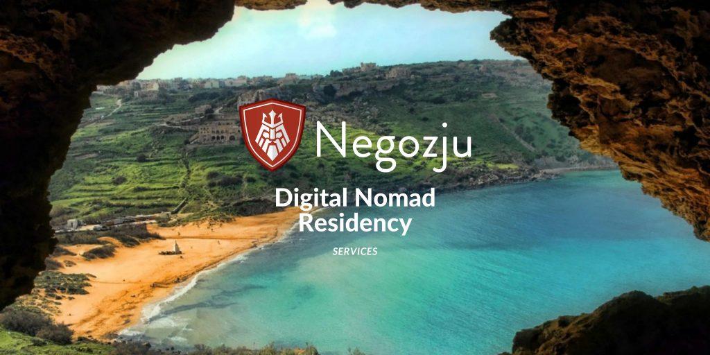 Digital Nomad residency services for malta permit visa